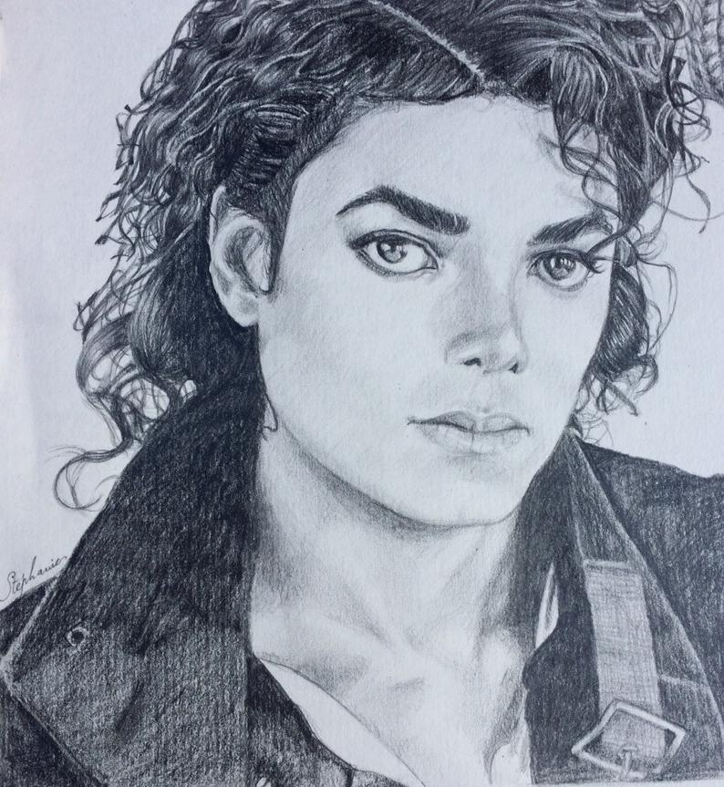 Michael Jackson by crayondesoleil